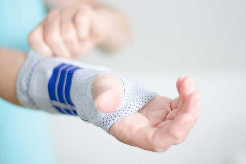 Ergotherapie Handbandage
